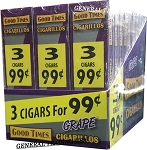 Good Times Grape 90 Cigarillos