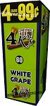 4 K's White Grape Cigarillos 4 For 99