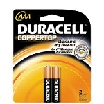 Duracell Batteries AAA 2 Pack