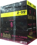 DUTCH MASTERS CIGARILLOS BERRY FUSION BURST NATURAL CONNECTICUT LEAF WRAPPER - CRAFTED TO BURN SLOW 60 PREMIUM CIGARS
