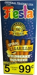 FIESTA Wildberry Squeeze 75 Cigarillos
