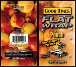 FLAT WRAP PEACH 25-2'S 50 WRAPS