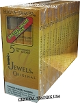 HAV-A-TAMPA JEWELS ORIGINAL BIRCH WOOD TIP CIGARS 100 COUNT