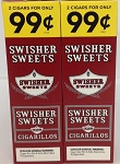 Swisher Sweets Cigarillos Regular 2 for 99