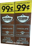 Swisher Sweets Cigarillos Chocolate 2 for 99 60 Count