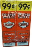 Swisher Sweet Peach Cigarillos 60 CT