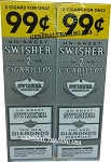 Swisher Sweets UN-SWEET DIAMONDS Cigarillos 2 for 99 60 Count