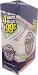TWISTED HEMP GRAPE WRAPS 60 COUNT