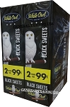 White Owl Cigarillos BLACK SWEET 2 for 99 60 Count