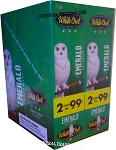 WHITE OWL CIGARILLOS  EMERALD UN-SWEET SLOW BURN 2 FOR 99 60 CIGARILLOS