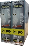 White Owl Cigarillos PLATINUM UN-SWEET 2 for $0.99 60 Cigars