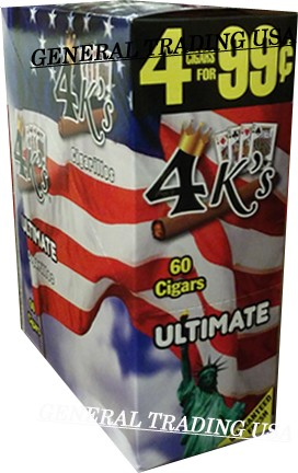 4 K's Ultimate Cigarillos 4 For 99