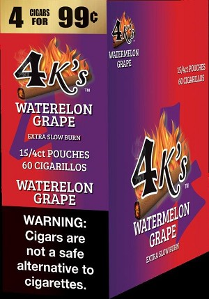 4K's Melonberry Cigarillos 4 For $0.99 60 Cigars