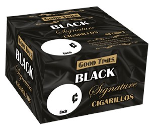 Good Times Black Signature 60 Cigarillos