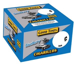 Good Times Blueberry 60 Cigarillos