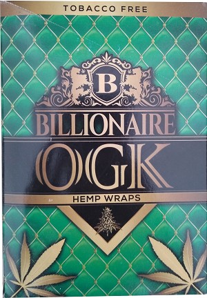 Billionaire Hemp Wraps OGK 50 count