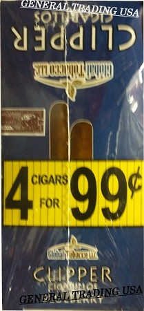 Clipper Blueberry Cigarillos 60 Cigars