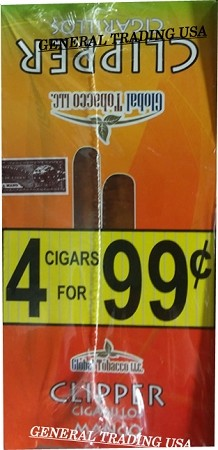 Clipper Mango Cigarillos 60 Cigars