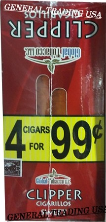 Clipper Sweet Cigarillos 60 Cigars
