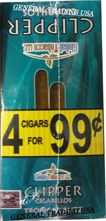 Clipper Tropical Buzz Cigarillos 60 Cigars