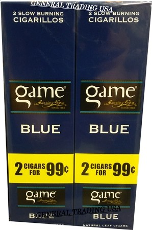 Game BLUE 60 CIGARILLOS