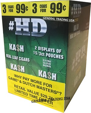 HD HIGH DEFINITION KA$H 90 CIGARILLOS