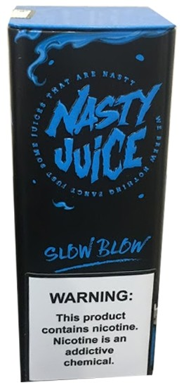 Nasty Juice Slow Blow 60 ml 06 MG