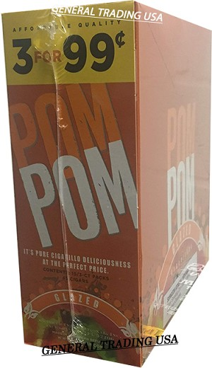 POM POM GLAZED CIGARILLOS 45 CIGARS