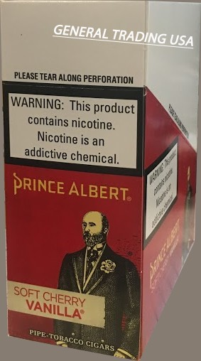 Prince Albert PT Soft Cherry Vanilla 50 CT