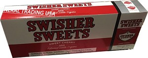SWISHER SWEETS CHERRY FILTERED LITTLE CIGARS