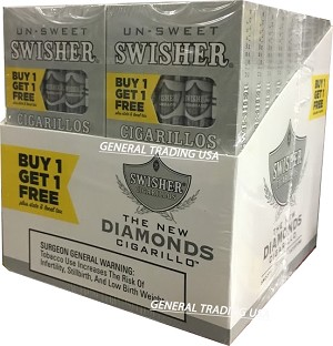 Swisher Sweets Blunt Twin Pack 100 Count