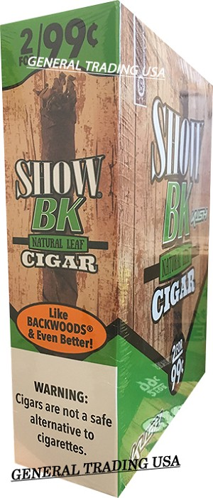 SHOW BK NATURAL LEAF KUSH CIGAR 30 CIGARS