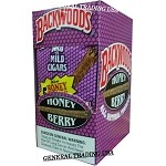 BACKWOODS HONEY BERRY ALL NATURAL TOBACCO CIGAR 40 CIGARS