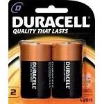 Duracell Batteries D  2 Pack
