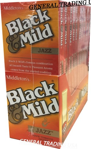 Black & Mild Jazz PT 50 CT