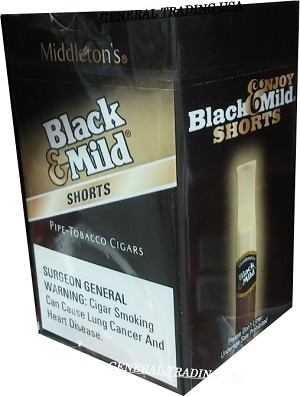 Black & Mild Shorts PT 25 CT