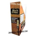 Black & Mild Natural Wrap Original Wood Tip Cigars 15 Count