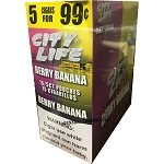 City Life BERRY BANANA Cigarillos 75 Count