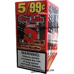 City Life Sweet Cigarillos 75 Count