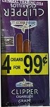 Clipper Grape Cigarillos 60 Cigars