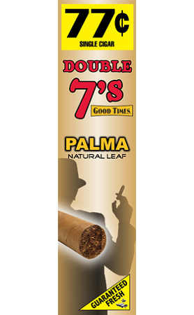 Double 7's Foil Pouch Palma 1-24-1's (24Count) Pre Priced 1/$.77