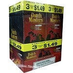 DUTCH MASTERS CIGARILLOS RED BERRY NATURAL CONNECTICUT LEAF WRAPPER - CRAFTED TO BURN SLOW 60 PREMIUM CIGARS