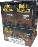 DUTCH MASTERS CIGARILLOS CHOCOLATE NATURAL MADURO LEAF WRAPPER - CRAFTED TO BURN SLOW 60 PREMIUM CIGARS