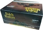 DUTCH MASTERS CHOCOLATE NATURAL MADURO LEAF WRAPPER CRAFTED TO BURN SLOW 55 PREMIUM LARGE CIGARS