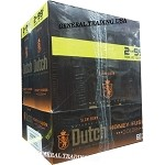 DUTCH MASTERS CIGARILLOS HONEY FUSION GOLDEN NATURAL CONNECTICUT LEAF WRAPPER - CRAFTED TO BURN SLOW 60 PREMIUM CIGARS