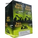 DUTCH MASTERS CIGARILLOS WHITE GRAPE NATURAL CONNECTICUT LEAF WRAPPER - CRAFTED TO BURN SLOW 60 PREMIUM CIGARS