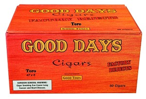 Good Days Factory Rejects Toro Natural 50 Count Box