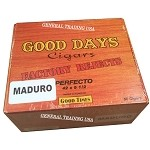 Good Days Factory Rejects Perfecto Maduro 50 Count Box