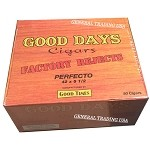 Good Days Factory Rejects Perfecto Natural 50 Count Box