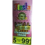 FIESTA Strawberry Cream 75 Cigarillos
